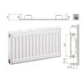 Стальные панельные радиаторы Prado Classic тип 10 высота 300 мм