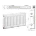 Стальные панельные радиаторы Prado Classic ТИП 21 ВЫСОТА 300 мм