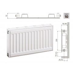 Cтальной панельный радиатор PRADO Classic  10х300х500