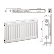 Cтальной панельный радиатор PRADO Classic  21х500х1000