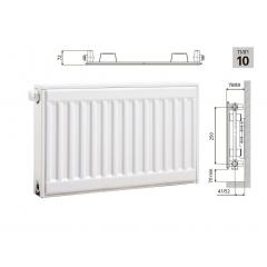 Cтальной панельный радиатор PRADO Universal  10х300х400