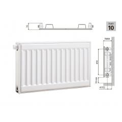 Cтальной панельный радиатор PRADO Universal 10х500х1300