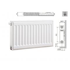 Cтальной панельный радиатор PRADO Universal 11х300х500