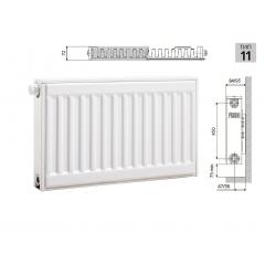 Cтальной панельный радиатор PRADO Universal 11х500х2400