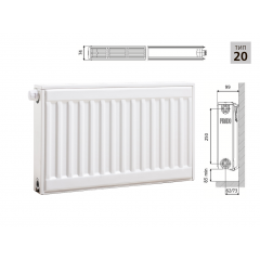 Cтальной панельный радиатор PRADO Universal 20х300х1600