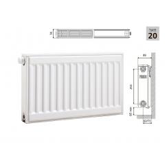 Cтальной панельный радиатор PRADO Universal 20х300х500