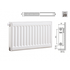Cтальной панельный радиатор PRADO Universal  20х500х600