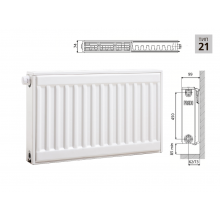 Cтальной панельный радиатор PRADO Universal    21х500х1000