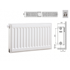 Cтальной панельный радиатор PRADO Universal 22х300х900