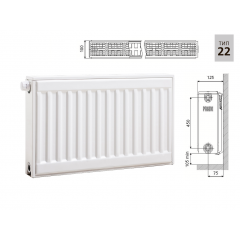 Cтальной панельный радиатор PRADO Universal 22х500х1100