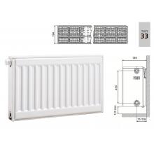 Cтальной панельный радиатор PRADO Universal 33х500х500